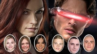 XMen Apocalypse Eyes Young Stars For Jean Grey & Cyclops