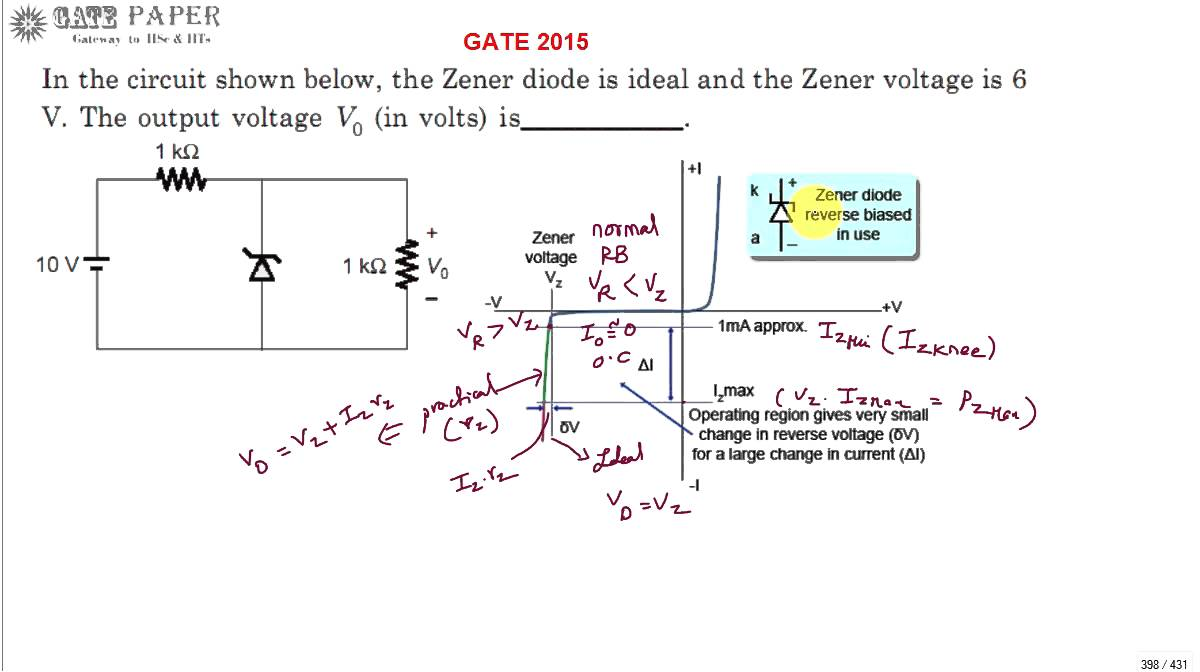 diode numerical problems Diode models ele 338 university of rhode island, kingston, ri 02881-0805, usa 1 large signal model: the shockley diode equation in this section we are considering large signal diode models.
