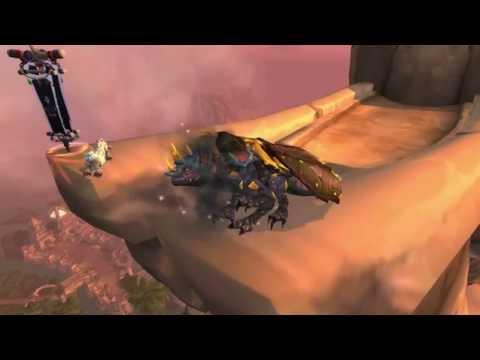 Sandstone Drake - Vial Of The Sands World of Warcraft Mount
