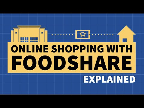 Online Shopping With FoodShare Explained