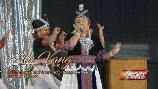 SUAB HMONG E-NEWS:  Lily Vang LIVE perform at 2017 Sacramento Hmong New Year