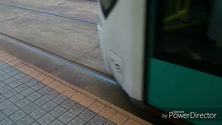 【響く!東洋IGBT】広島電鉄5100形 立町到着〜発車
