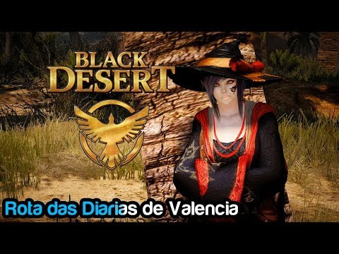 Black Desert-  Rota de Quests Diárias de Valencia