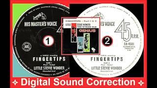 Little Stevie Wonder - Fingertips Part 1 & 2 (Digital Sound Correction)