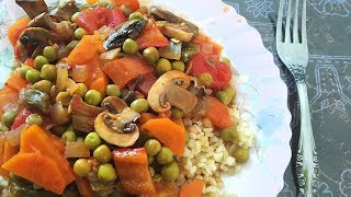Грибное соте в турецкой кухне \ Mantar sotesi