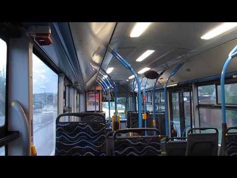Budapest bus-Man Lion's City A21 MRP-054@218 [HD]