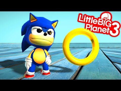 Video Game Items in LBP 4 With Sonic - LittleBigPlanet 3 Animation | EpicLBPTime