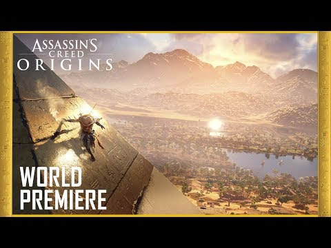 Assassin's Creed Origins: E3 2017 Official World Premiere Gameplay Trailer | Ubisoft [US]