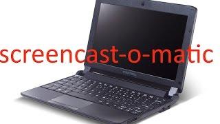 ТЕСТ:пойдёт ли screencast-0-matic на слабеньком нетбуке emachines em 350(screencast-0-matic - программа для записи видео с рабочего стола ! ссылка на программу http://screencast-o-matic.com/home., 2016-01-08T14:56:39.000Z)