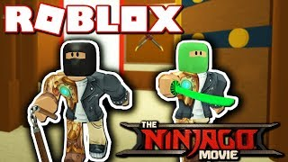 BECOMING A LEGO NINJAGO!! (Roblox Ninjago Movie!)
