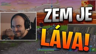 Fortnite | Zem je LÁVA!
