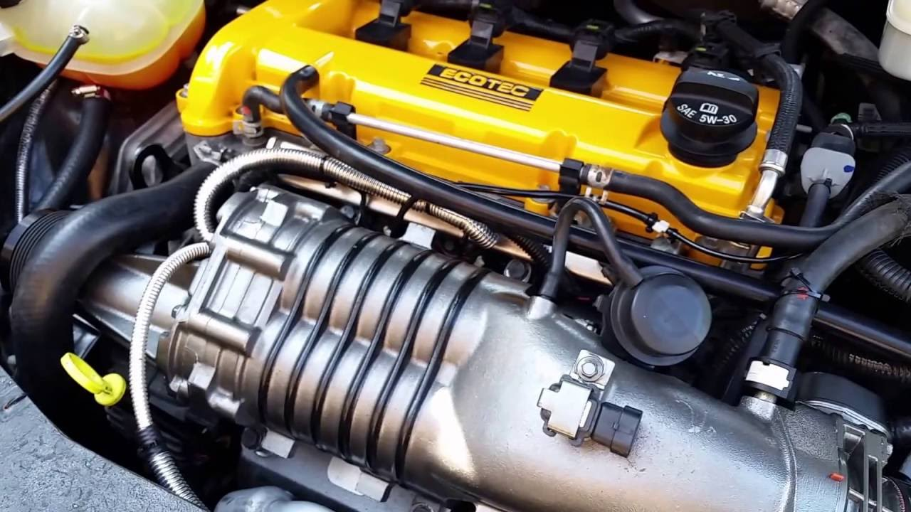 how to supercharge a 2 2l l61 ecotec - part 2 - engine bay, idle, and  driving