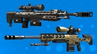 BO2 Sniping: DSR50 and Ballista Nerfed - Death of Quickscoping?