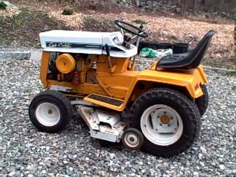 1970 Cub Cadet Tractor Youtube