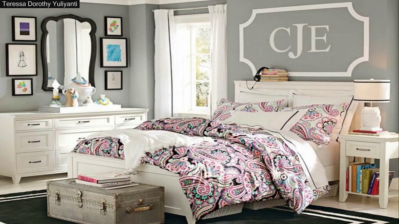Teenage Girl Bedroom Ideas For Small Rooms Tumblr - YouTube