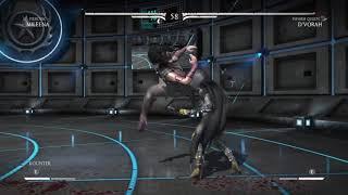 Mortal Kombat D´vorah beats Mileena