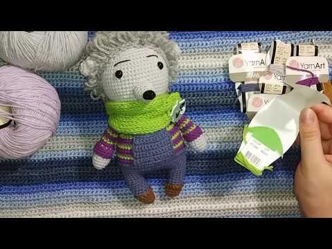 Мастер класс Ежик Тимоша крючком, описание  Crochet Hedgehog