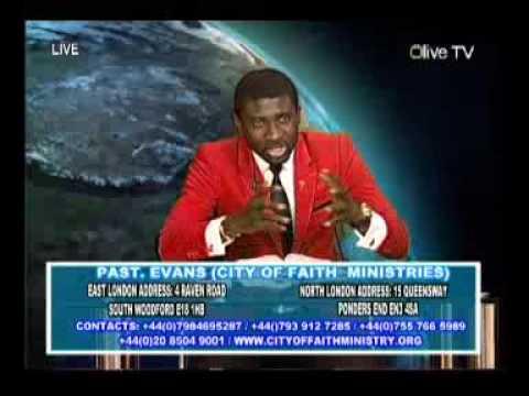 Pastor Evans Oppong OLIVE TV LIVE BROADCAST