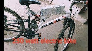 500TL'ye Bisikleti Elektrikliye Çevirdik to make a 250watt electric bike