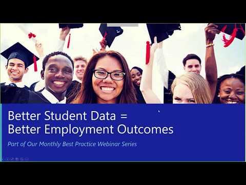 Better Student Data = Better Employment Outcomes