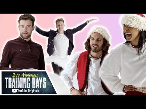 Jack Whitehall, Maya Jama, Manny & More Learn RUSSIAN DANCING! | Jack Whitehall: Training Days
