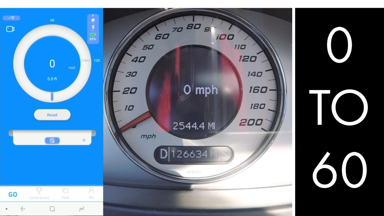 Tuned Supercharged 2006 E55 AMG W211 Dragy 0-60 Acceleration Run! Stage 1  RaceIQ