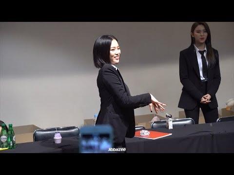 180310 CLC Members Dance Battle (Seungyeon's Dance Break in Black Dress)