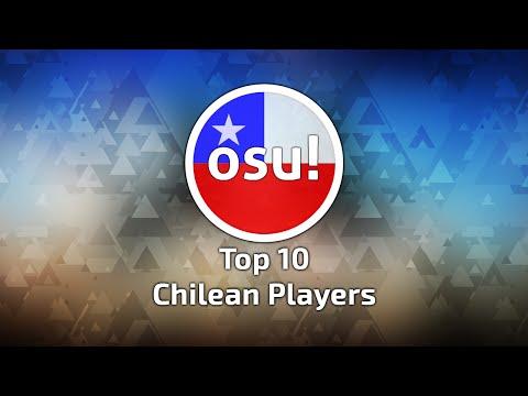 Top 10 Chilean Players osu! (12-06-2016)
