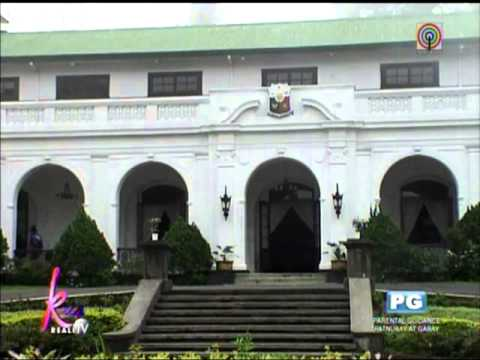 Kris tours Mansion House in Baguio for first time
