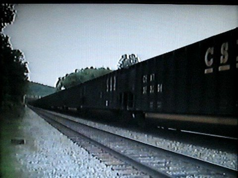 CSX Coal Train on the Barboursville, W.Va. Scales