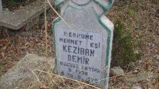 Ilgın Çatak Köyü Mezar Taşları.WMV