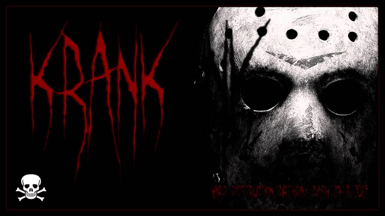 Dj Krank - Hard Destruction Radio Birthday 29-11-2013 (Hardtechno/Schranz)