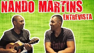 NANDO MARTINS cavaquinista do THIAGUINHO   ENTREVISTA