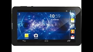 "Unboxing + обзор планшета Ergo Tab Link 3G 7"""
