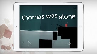 Thomas Was Alone - iPad Game Trailer