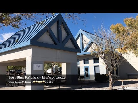 Fort Bliss Army RV Park - El Paso, Texas