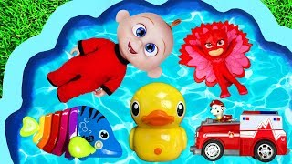 Learn Characters and Colors - Animals, Paw patrol, Pj Masks and The Incredibles for kids