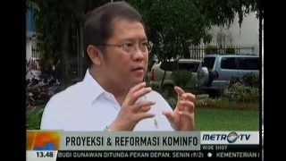 Wawancara Menteri Kominfo Dengan Metro TV