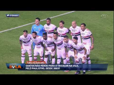 Pelo Paulistão, Santos Não Perde Para O Tricolor Na Vila Desde 2003