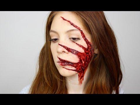 Parcalanmis Parmak Eklemleri -FX Makeup | Aslı Özdel clip