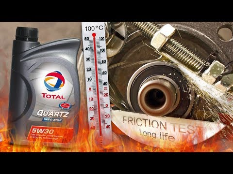 Total Quartz Ineo MC3 5W30 How well the engine oil protect the engine? 100°C