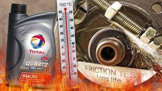 Total Quartz Ineo MC3 5W30 Jak skutecznie olej chroni silnik? 100°C