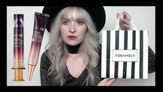 NEW Tony Moly BIO EX Skincare Haul | Best of K-Beauty
