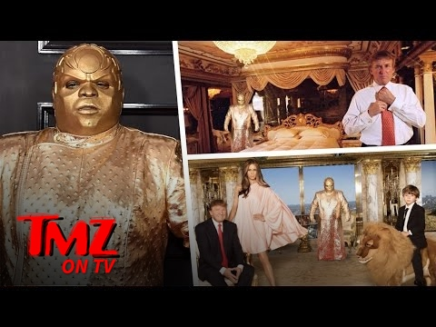 What The Hell Is CeeLo Green Wearing?! | TMZ TV
