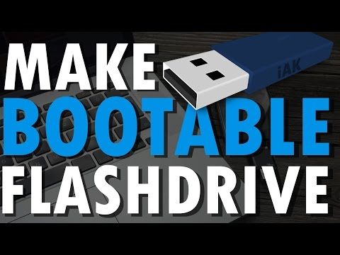 How to make a Bootable USB Flash Drive for setup Windows on your PC | PC Tutorials
