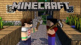 Minecraft: HARDCORE #2 - TARLA YAPIYORUZ!