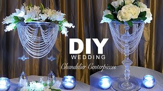 DIY | Wedding Chandelier  Centerpiece