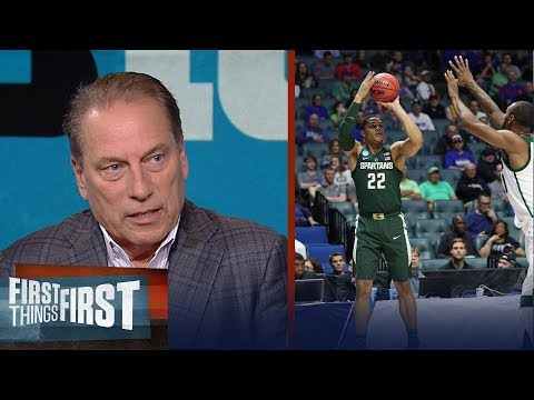 Tom Izzo joins Nick and Cris in studio to talk 2017-18 MSU Spartans | FIRST THINGS FIRST