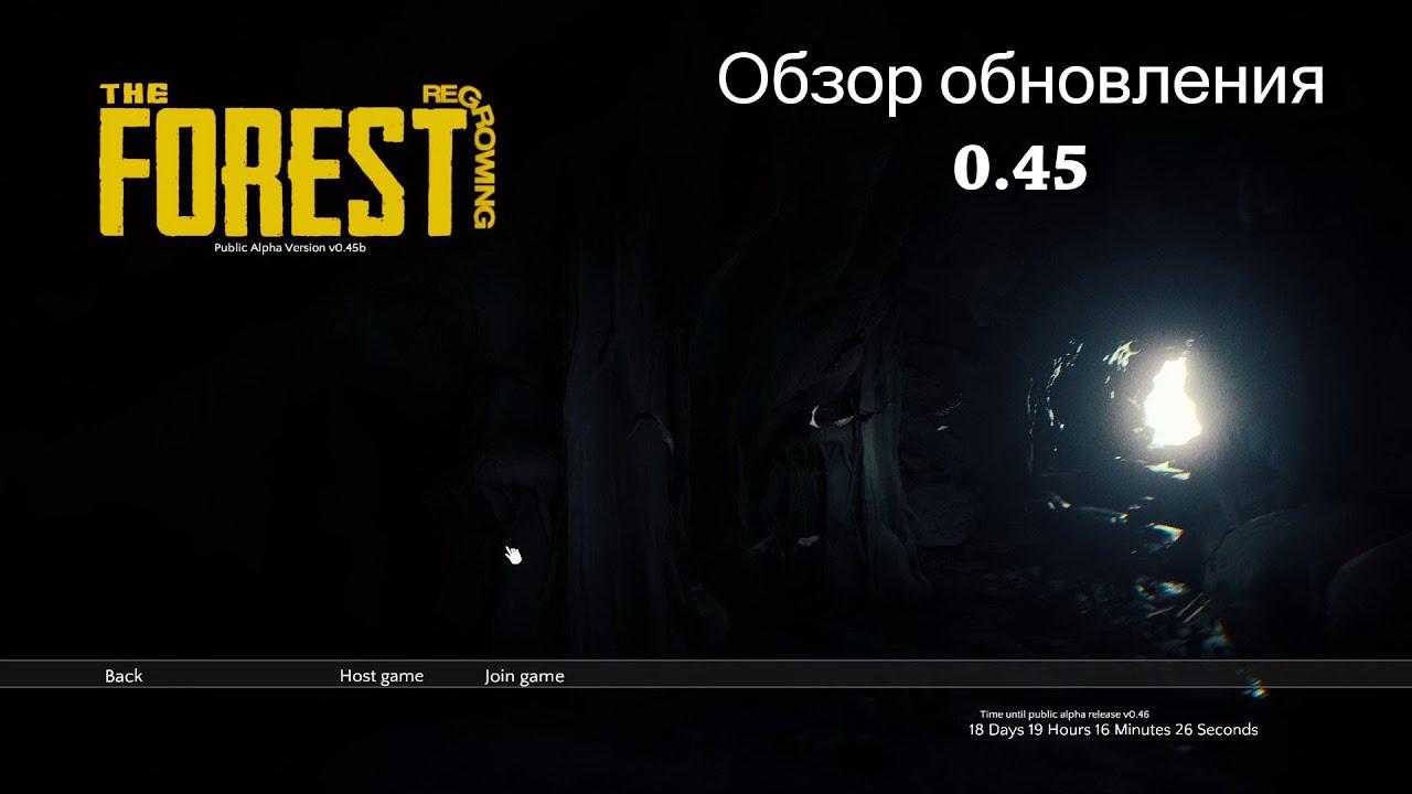 The forest 0 45 скачать.