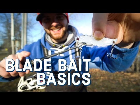 Blade Bait Basics - The BEST Lure For Winter Fishing